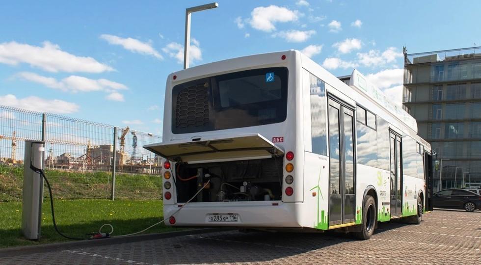 ПАО «КАМАЗ» презентовало первую вРФ станцию ультрабыстрой зарядки для электробусов