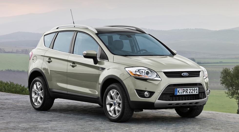 На фото: Ford Kuga '2008–12