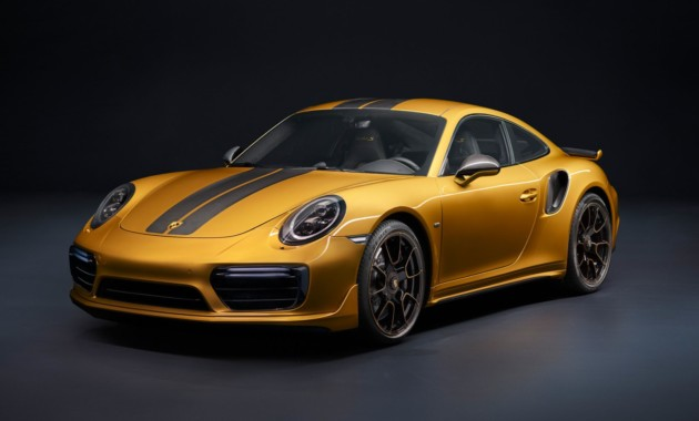 Компания Порш презентовала спецверсию купе 911 Turbo S Exclusive Series