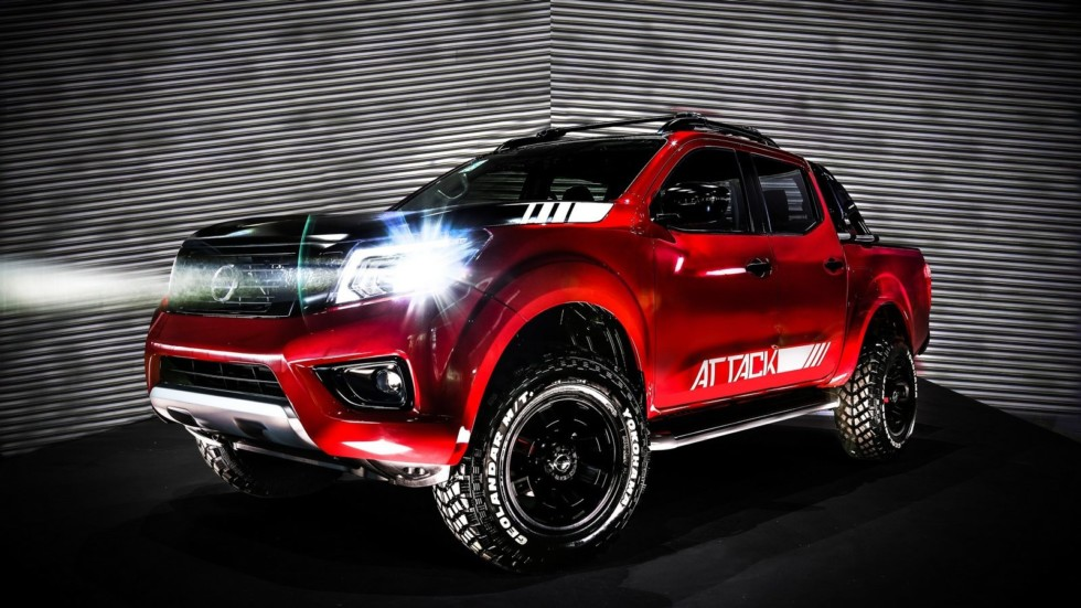 Nissan Frontier Attack Concept makes world debut