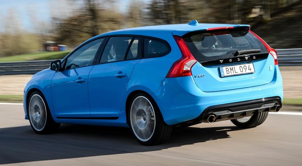На фото: Volvo V60 Polestar