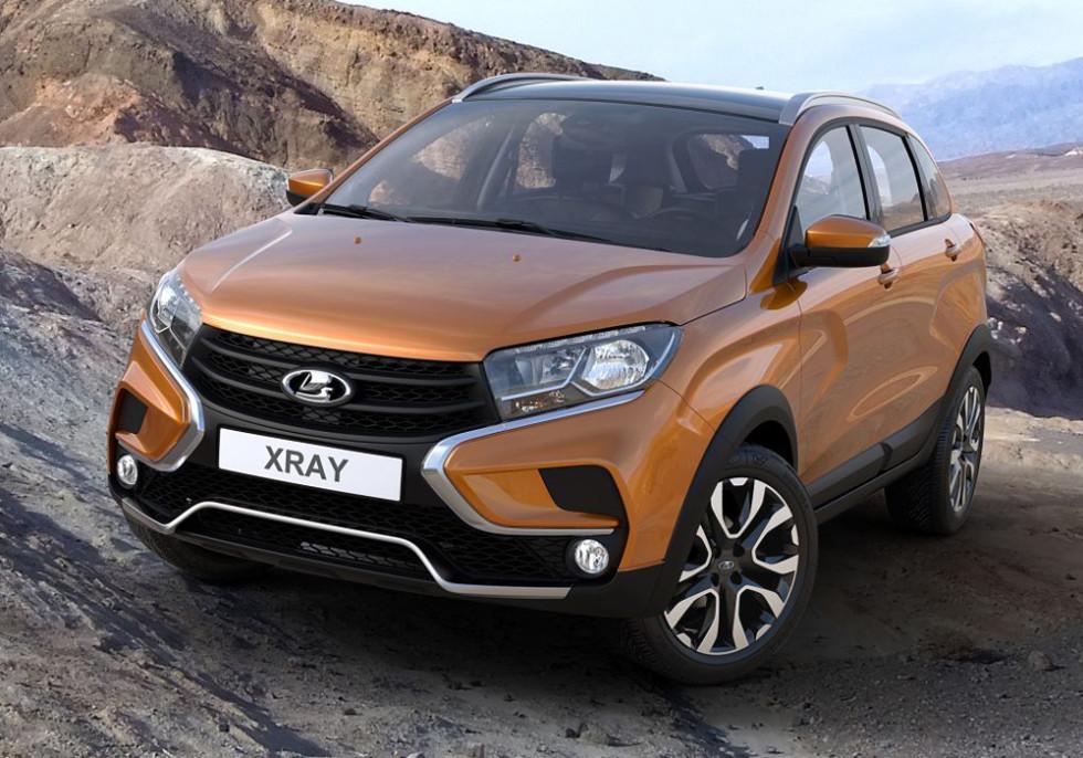 На фото: Lada Xray Cross Concept