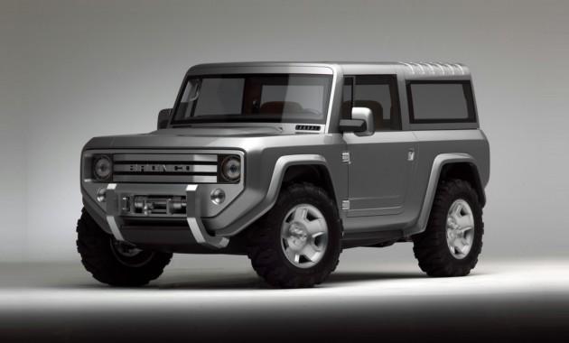 19ИюлВозрождённый внедорожник Ford Bronco подробности