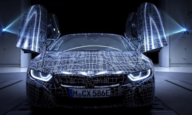 БМВ подтвердила создание i8 Roadster