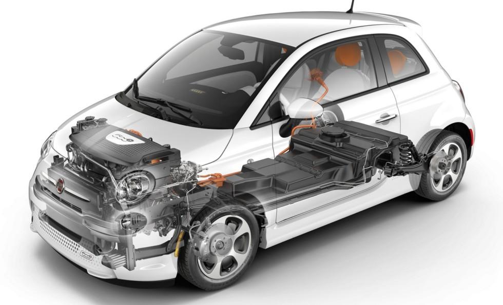 2013–н.в. Fiat 500e '2013–н.в.