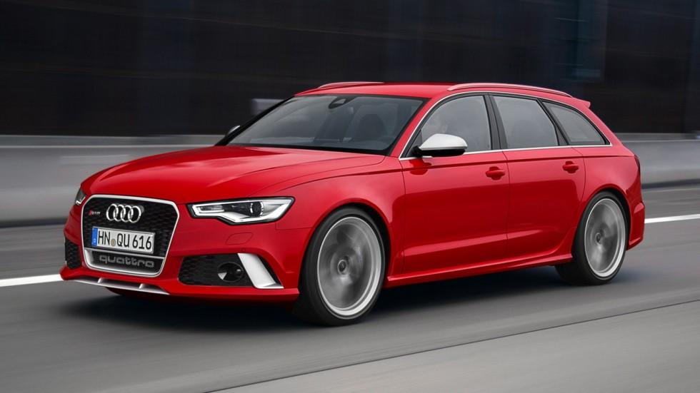 На фото: Audi RS 6 Avant (4G,C7) '2013–14