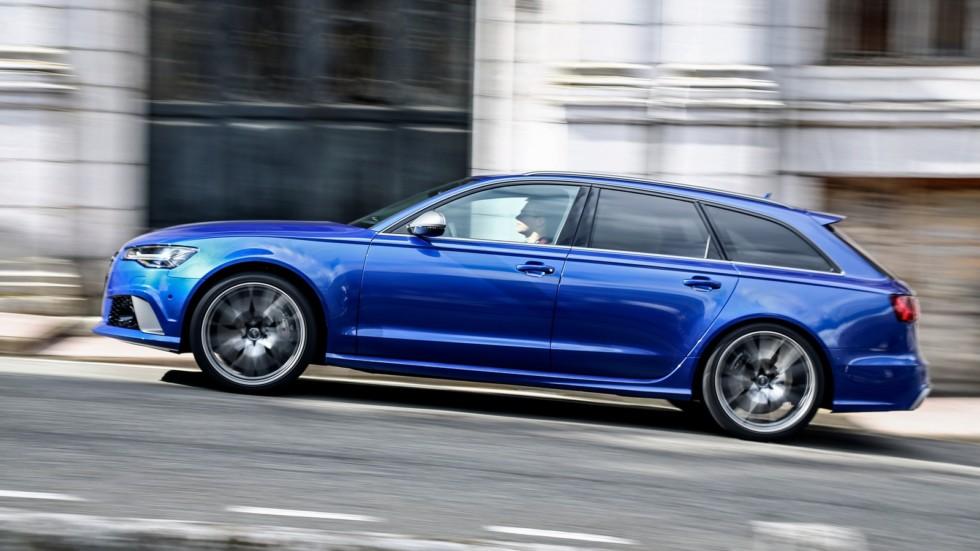 На фото: Audi RS 6 Avant Performance (4G,C7) '2015–н.в.