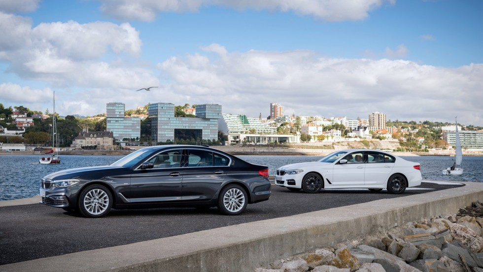На фото: BMW 5 Series Sedan (G30) '2017