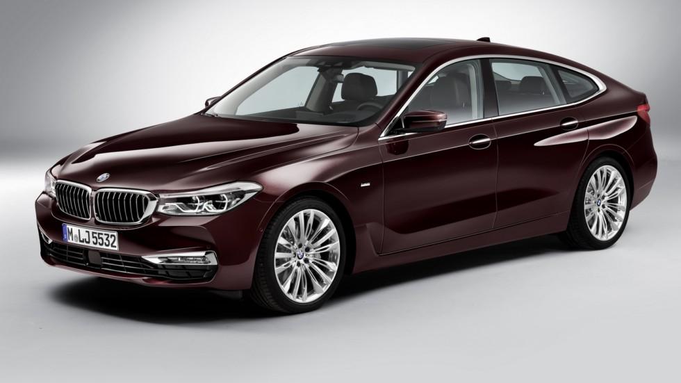 На фото: BMW 630d xDrive Gran Turismo Luxury Line (G32) '2017