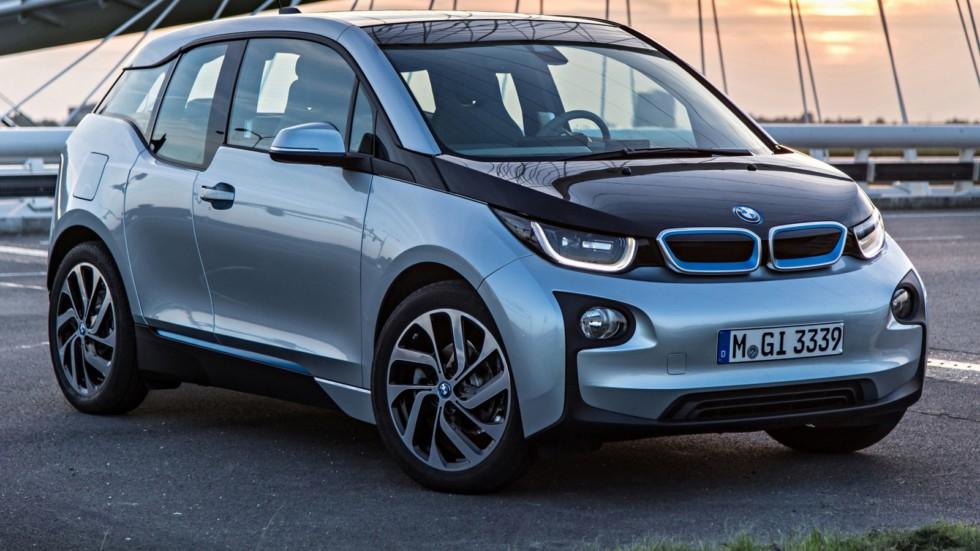На фото: BMW i3 '2013–н.в.