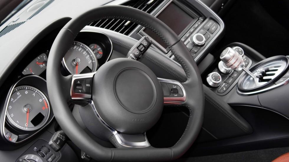 Modern Sports Car Interior