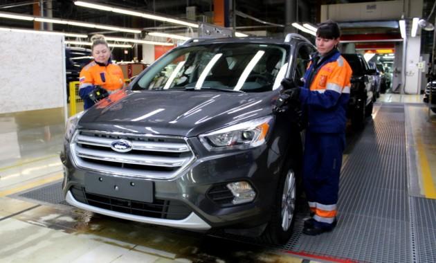 Форд Sollers в 2017 увеличит заработной платы сотрудникам на4,5-7%