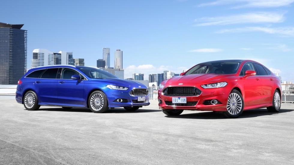 На фото: Ford Mondeo '2013–н.в.