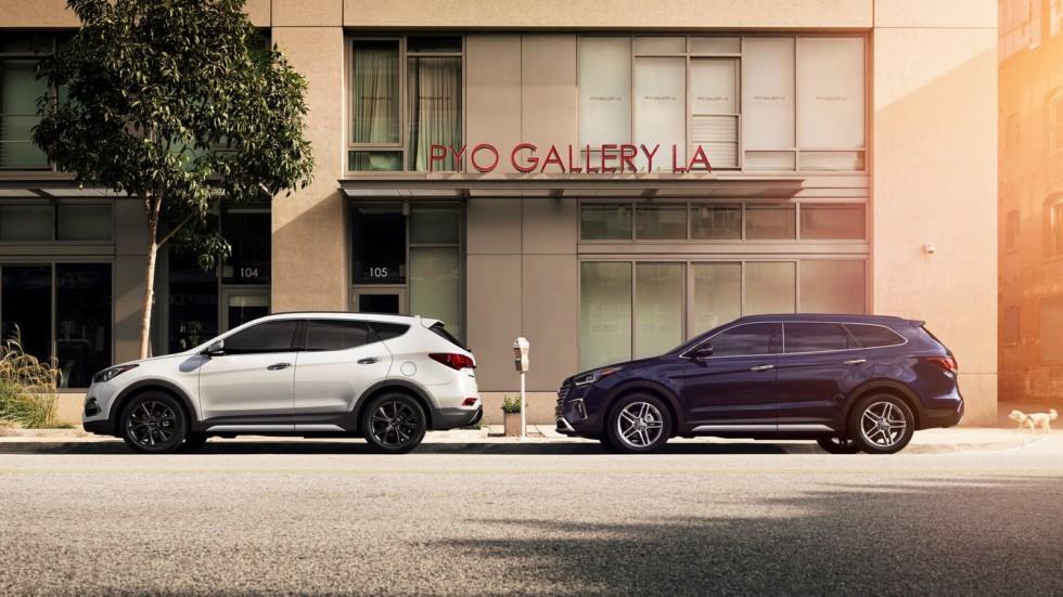 На фото: Hyundai Santa Fe (DM) '2015–н.в.