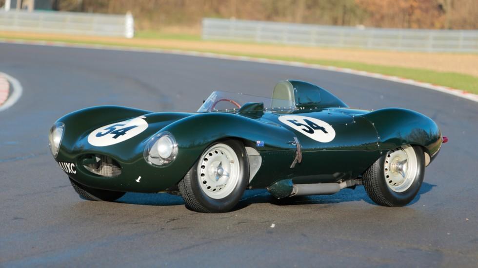 На фото: Jaguar D-Type '1955–56