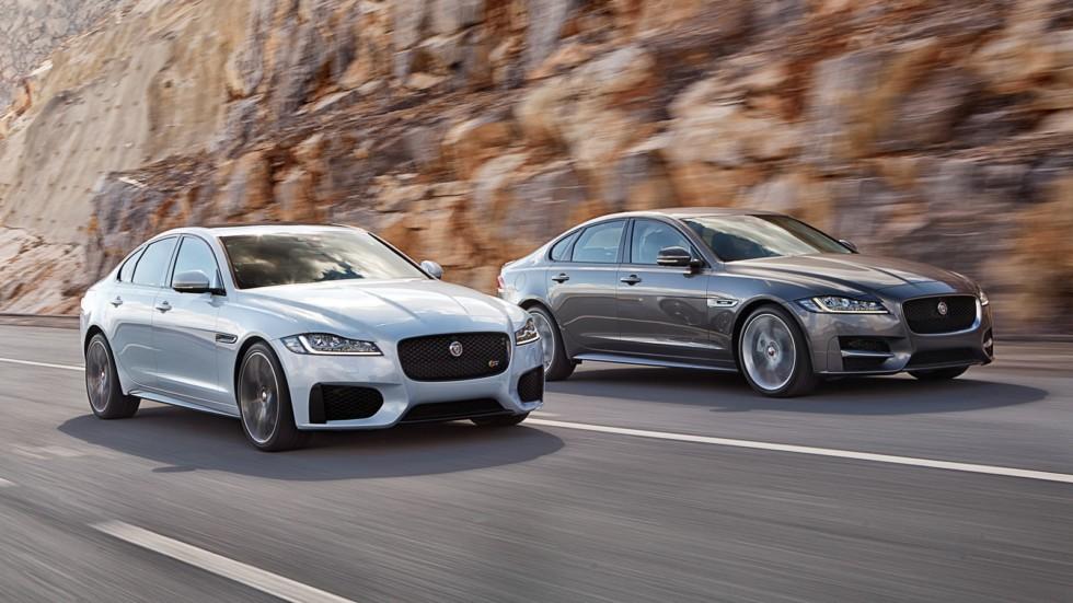 На фото: Jaguar XF (X260) '2015–н.в.