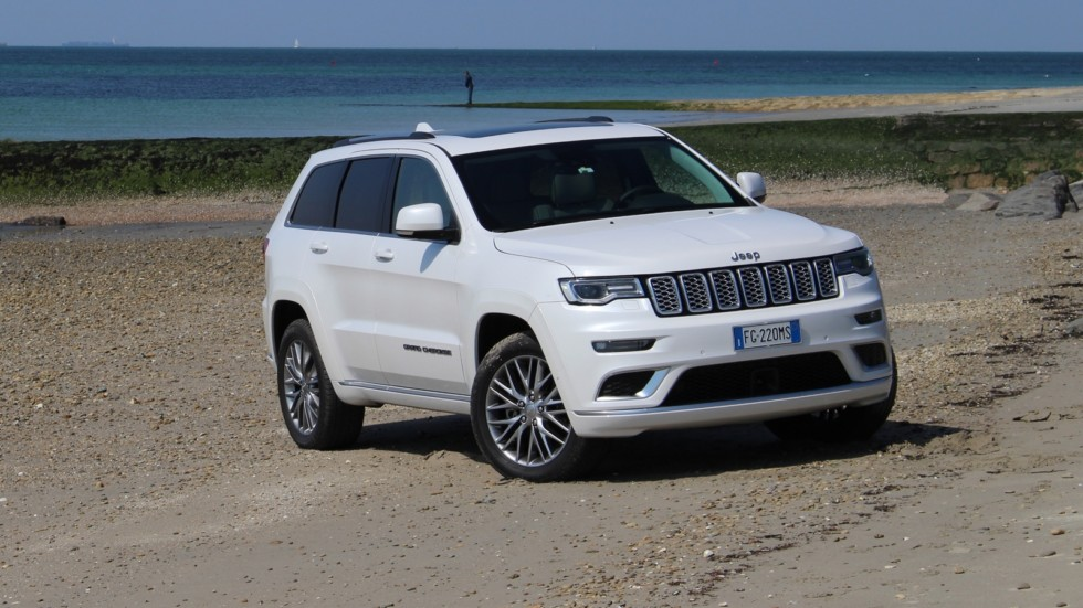 На фото: Jeep Grand Cherokee Summit (WK2) '2016–н.в.