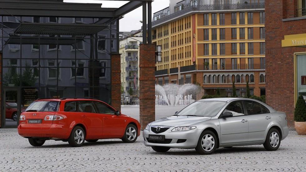 На фото: Mazda6 (GG) '2002–07