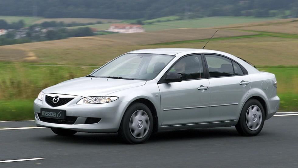 На фото: Mazda6 Hatchback (GG) '2002–05