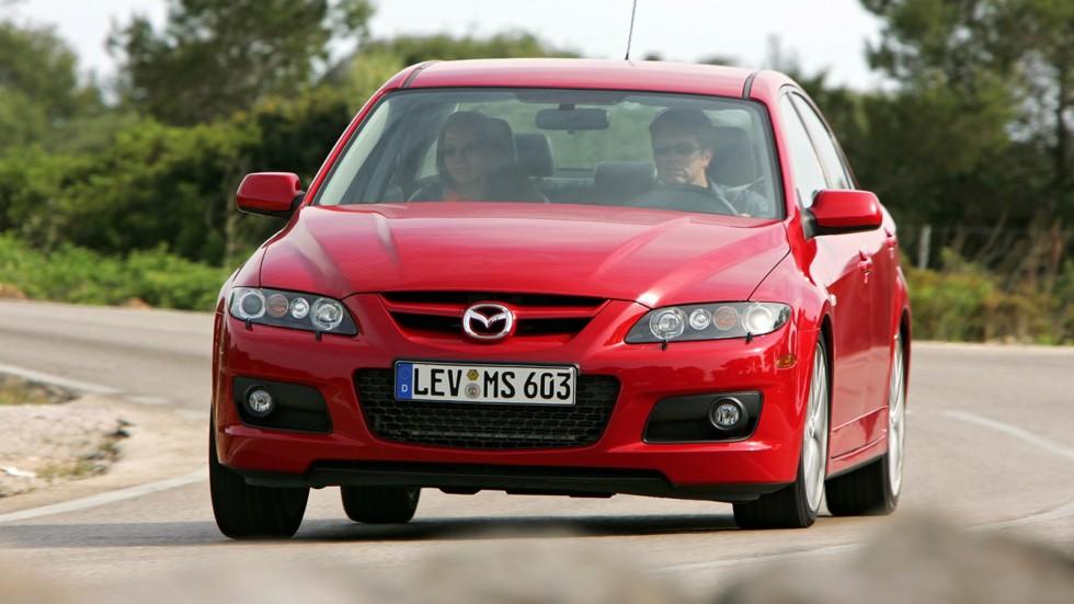 На фото: Mazda6 MPS (GG) '2005–07