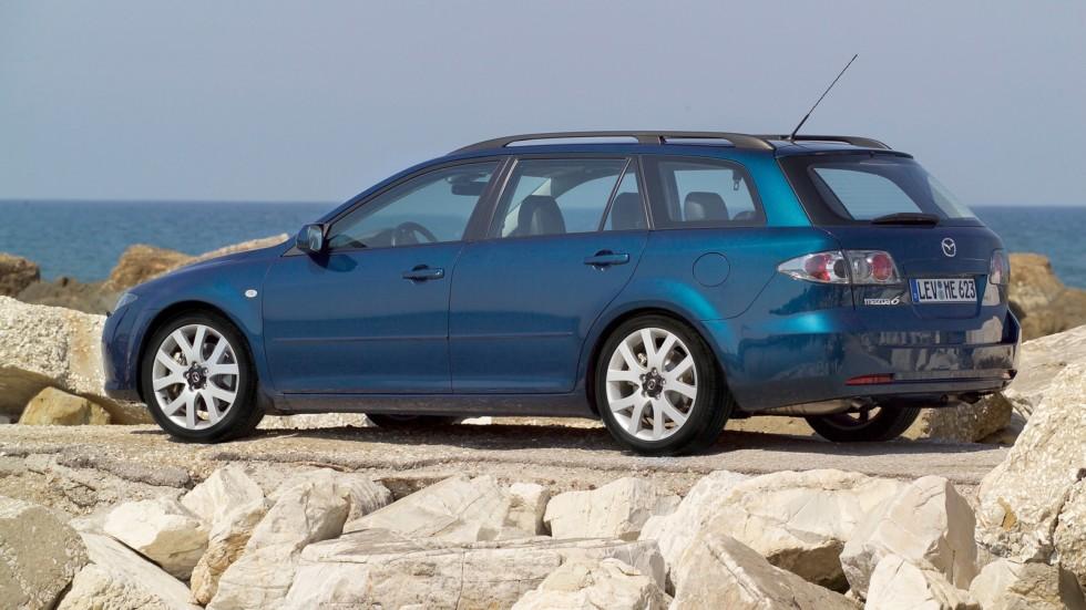 На фото: Mazda6 Wagon (GY) '2005–07
