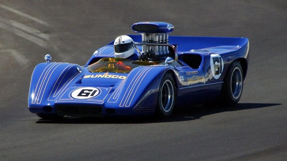 На фото: McLaren M6A, 1967