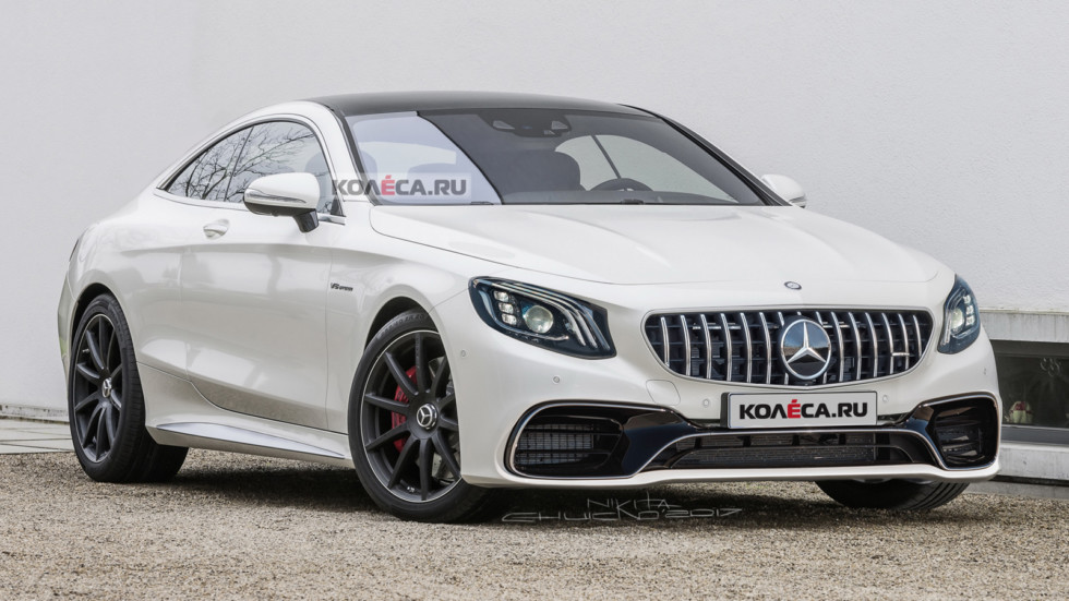 Mercedes S coupe AMG front2