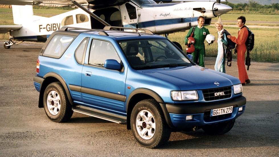 На фото: Opel Frontera Sport (B) '1998–2001