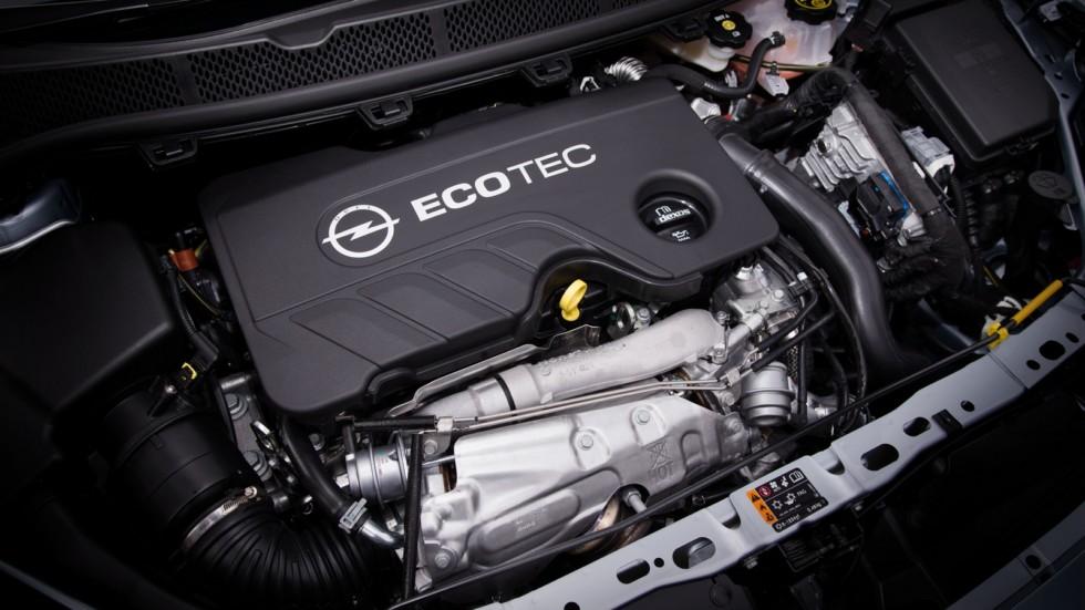 Под капотом Opel Astra Sports Tourer BiTurbo (K) '2016–н.в.