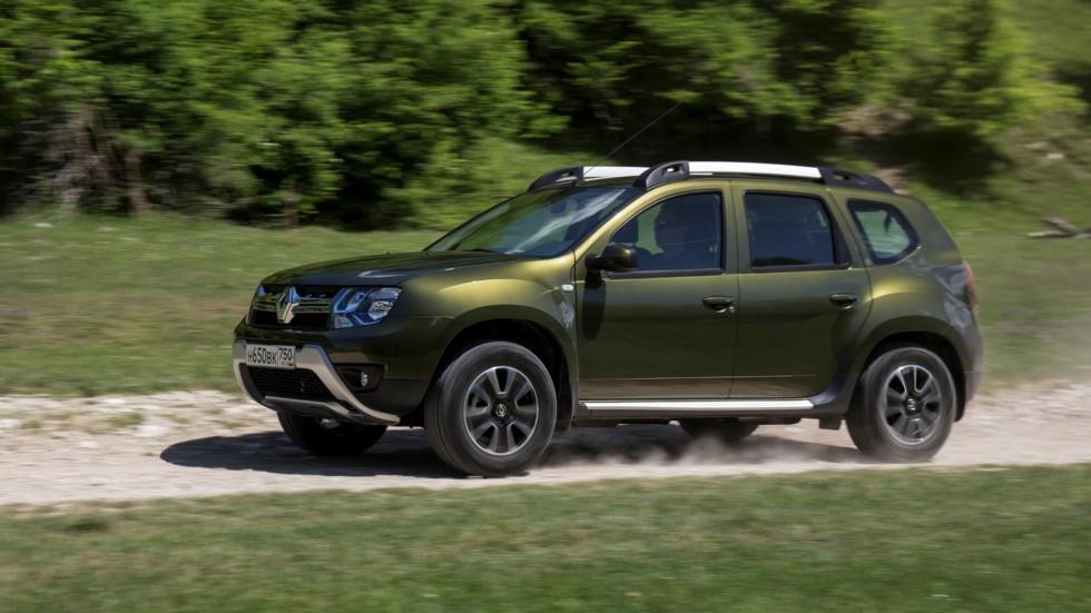 На фото: Renault Duster '2015–н.в.