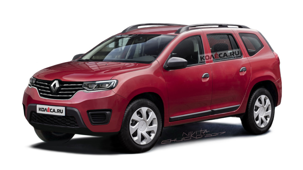Renault Duster front2