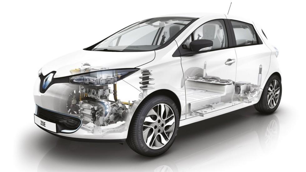 На фото: Renault Zoe Z.E. '2012–н.в.