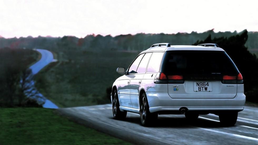 На фото: Subaru Legacy 2.0 GT-B Touring Wagon (BD) '1996–98