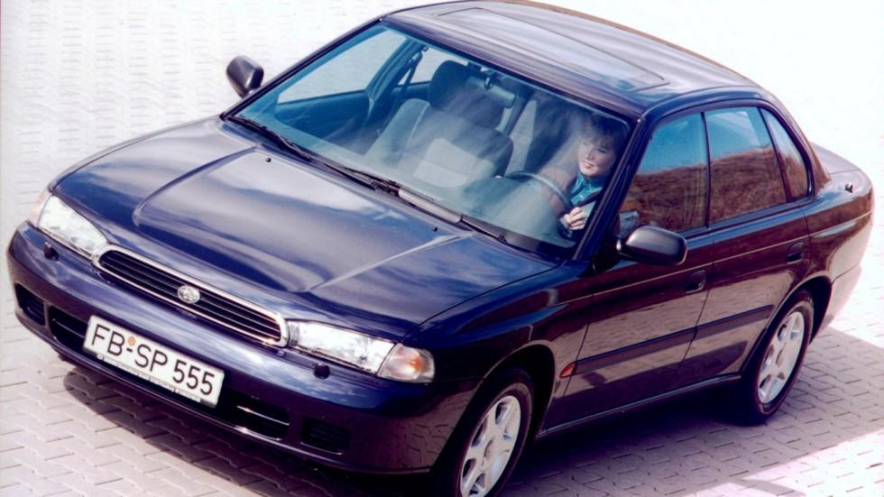 На фото: Subaru Legacy 2.2 (BD) '1993–96