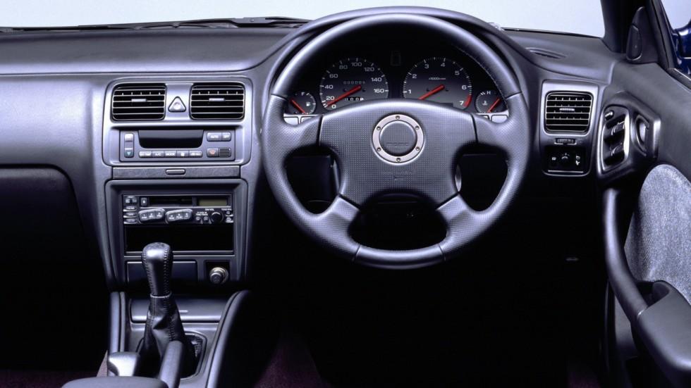 На фото: Subaru Legacy Lancaster (BG9) '1997–1998