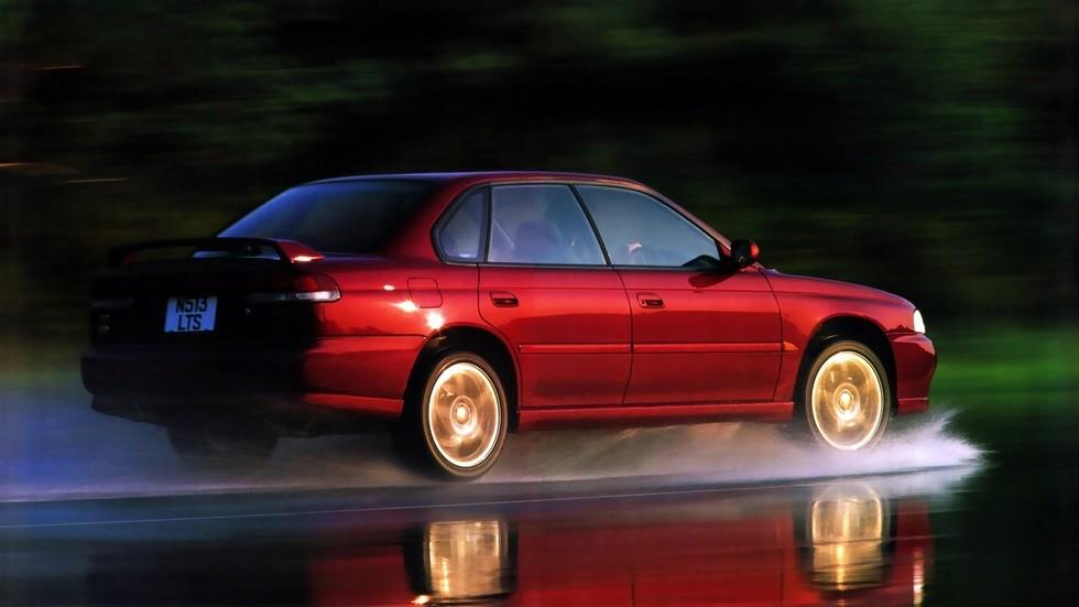На фото: Subaru Legacy RS (BD) '1996–98