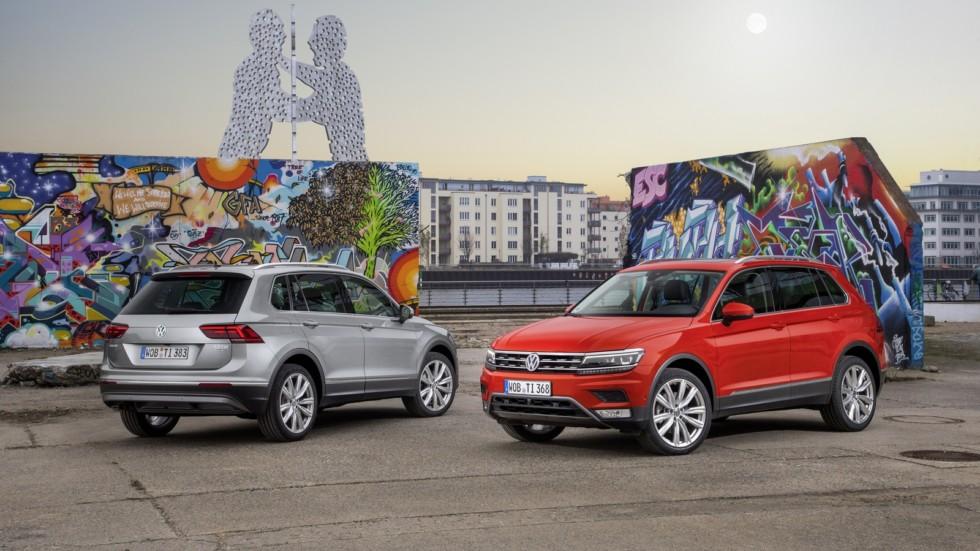 На фото: Volkswagen Tiguan'2016–н.в.