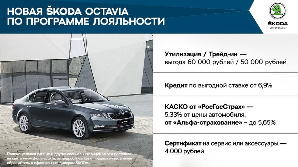 Выгодные предложения для клиентов SKODA в июле (4)