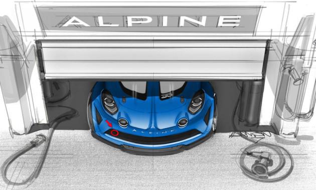 Рено представит гоночный вариант Альпин A110 Cup