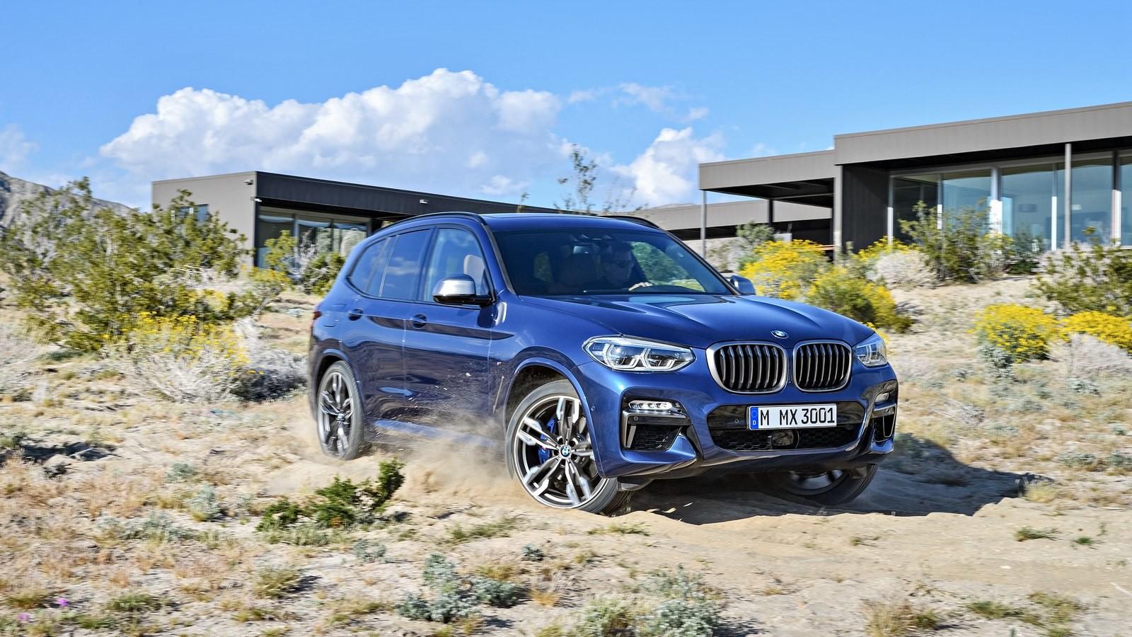 Всети опубликованы свежие рендеры нового кроссовера BMW X5