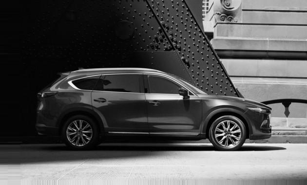 Рассекречена внешность кроссовера Mazda CX-8