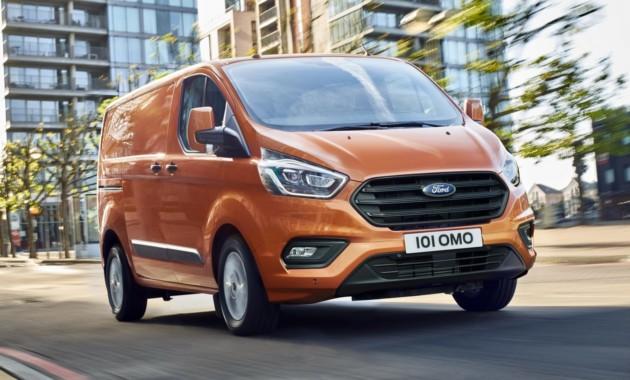 Форд привезет новый фургон Transit Custom в Российскую Федерацию