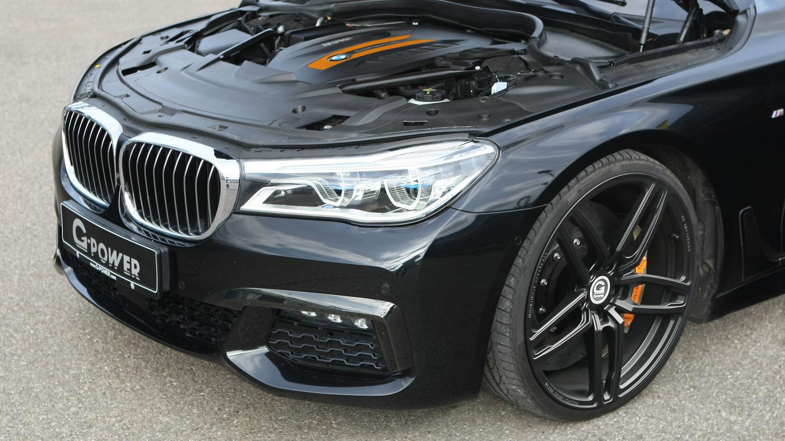 Ателье G-Power представило переработанный дизельный седан БМВ 750d