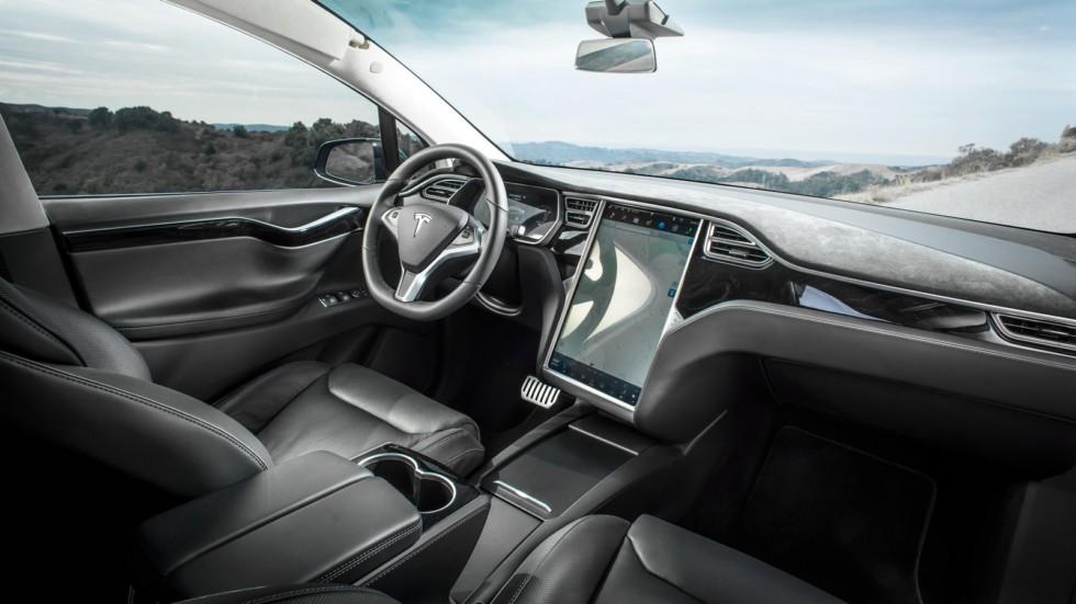 Салон Tesla Model X P90D