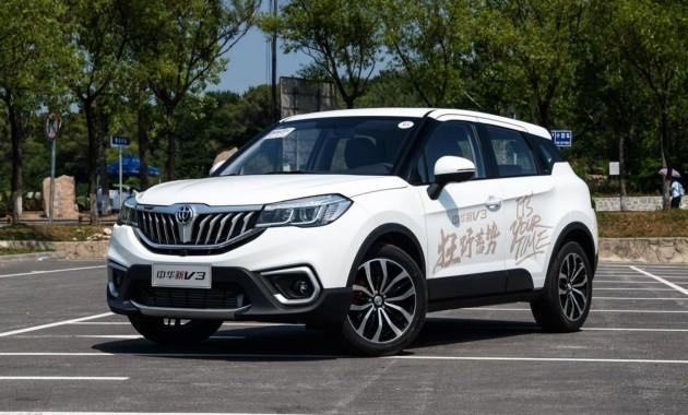 В КНР стартовали продажи улучшенного паркетника Brilliance V3