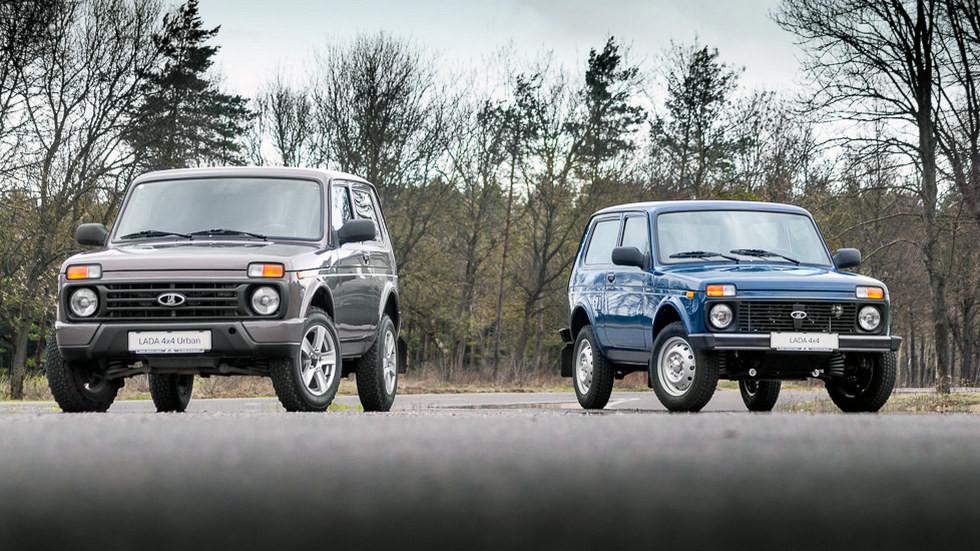 Lada 4x4 Urban и Lada 4x4