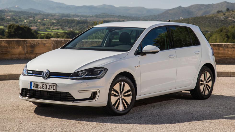 На фото: Volkswagen e-Golf