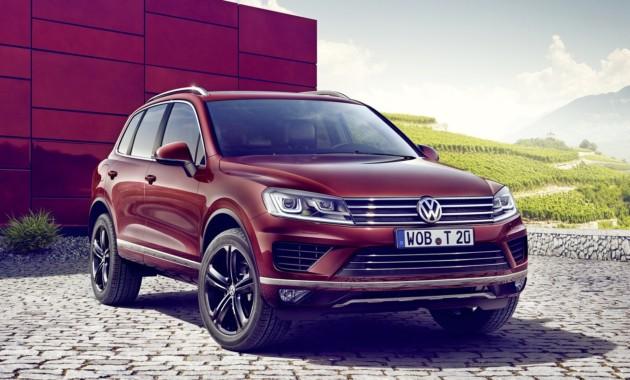 VW выведет модель Touareg с рынка Соединенных Штатов Америки