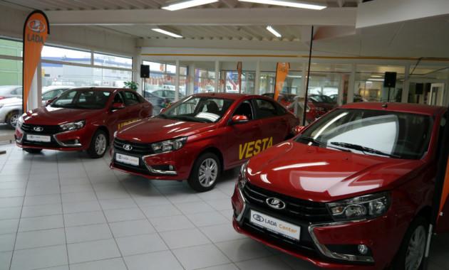 Продажи Лада  в EC  увеличились  на32%