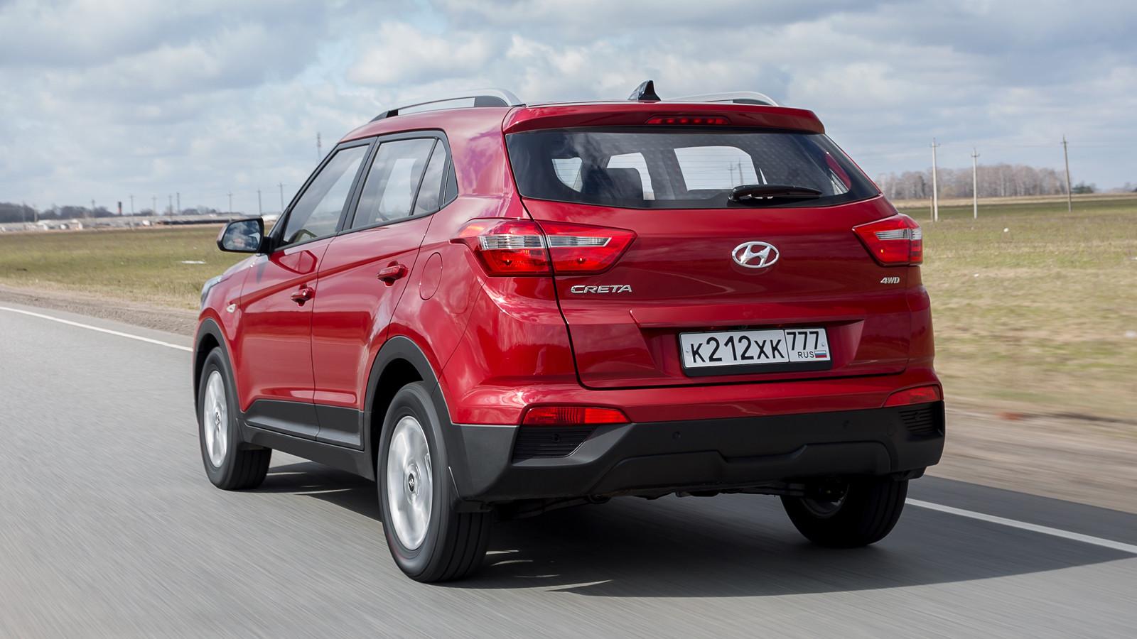 Hyundai начала продажи кроссовера Creta 2018 модельного года